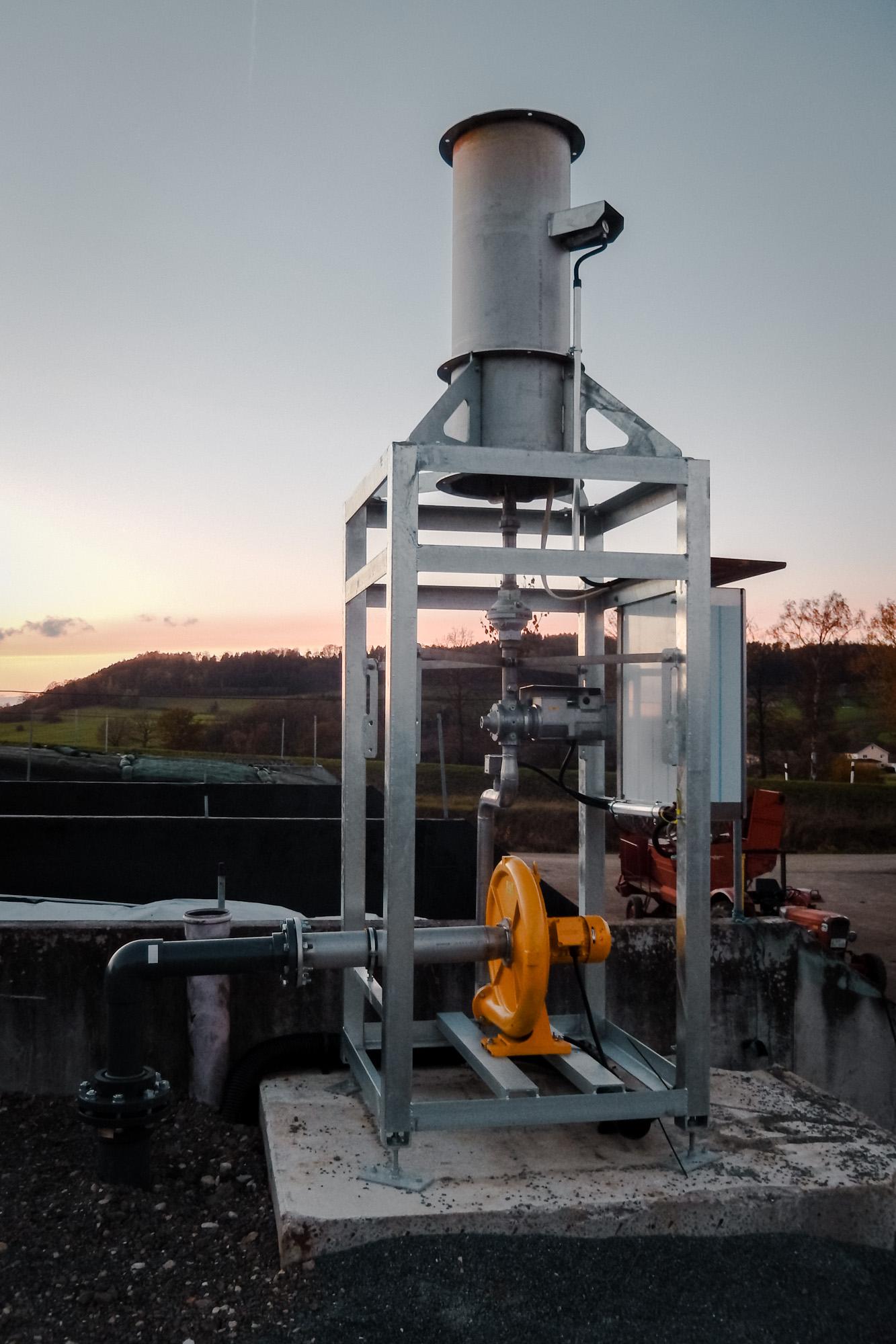 WHG Anlagenbau Gasfackel
