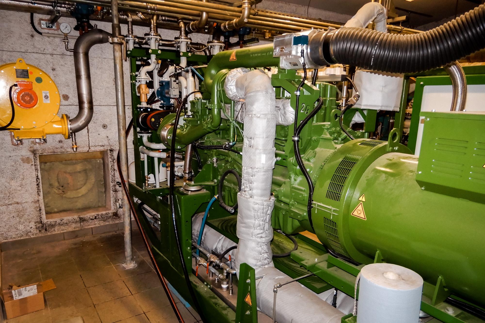WHG Anlagenbau BHKW-Raum