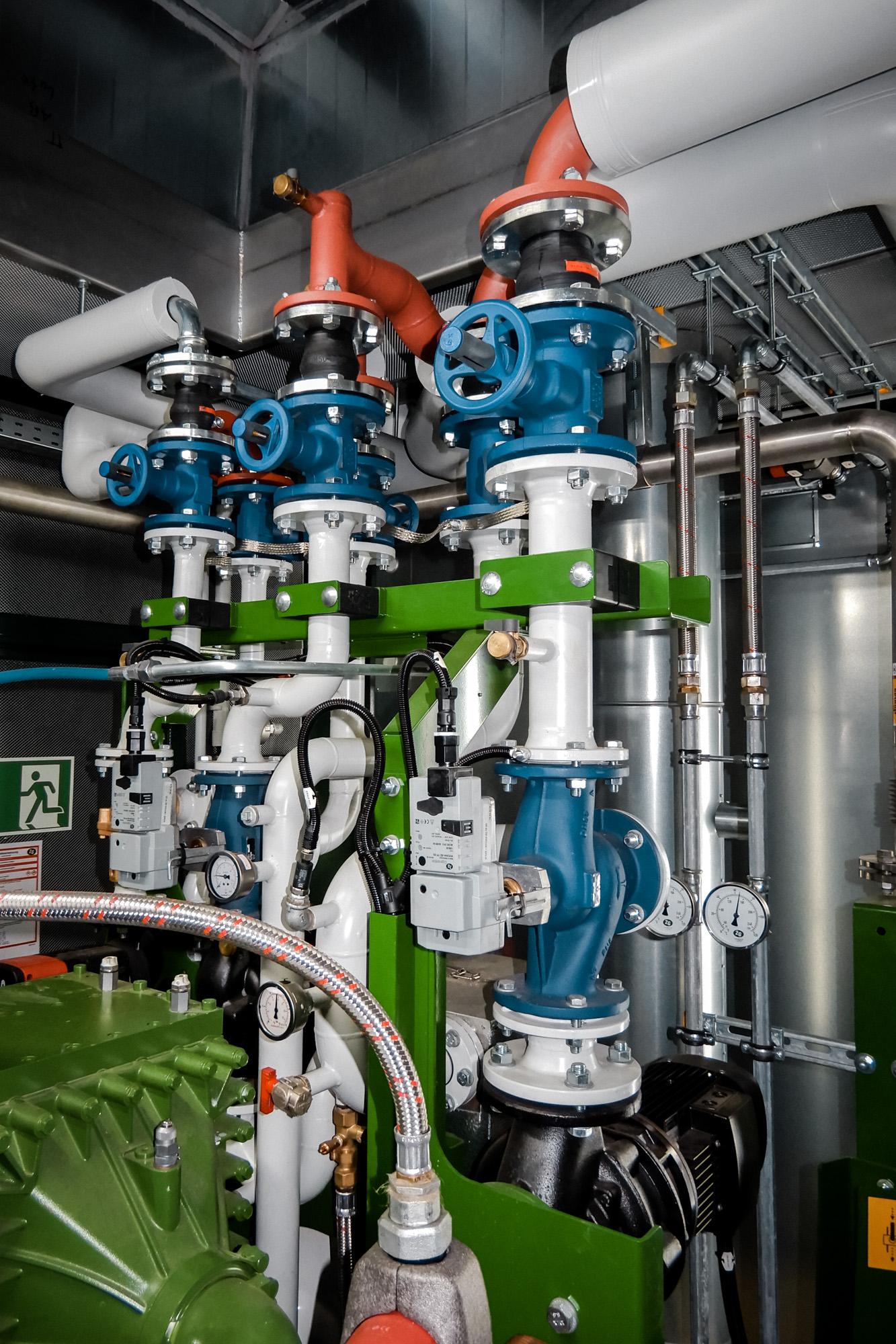 WHG Anlagenbau Rohrleitungssystem